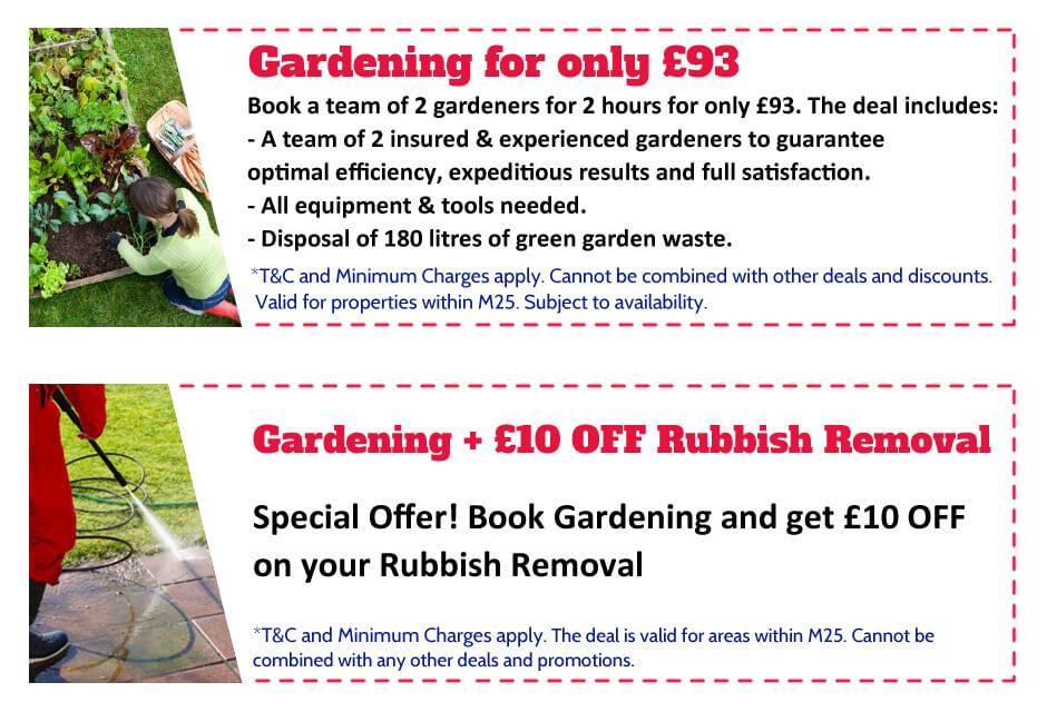 Gardeners Hendon Offer